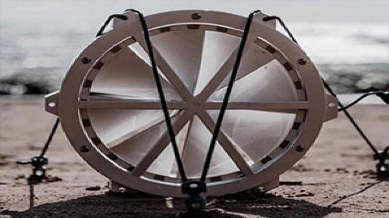 تولید برق با قرقره بادی