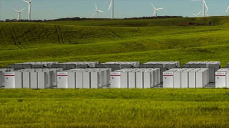 بزرگترین باتری دنیا در کالیفرنیا