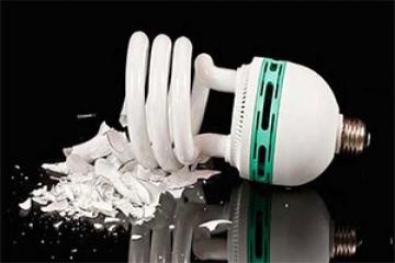 مضرات لامپ کم مصرف