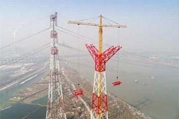 بزرگترین خط انتقال برق فشار قوی جهان در چین