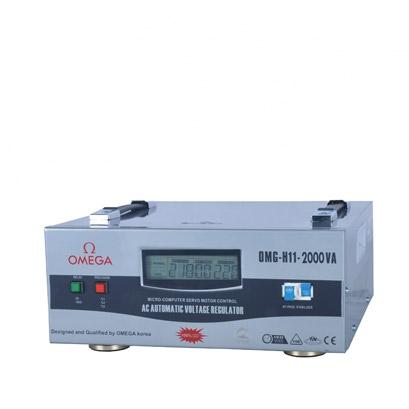 استابلایزر تکفاز سروو موتوری رک OMG-H11-2Kva