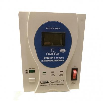 ترانس اتوماتیک رله ای امگا OMG-R11-1.5Kva