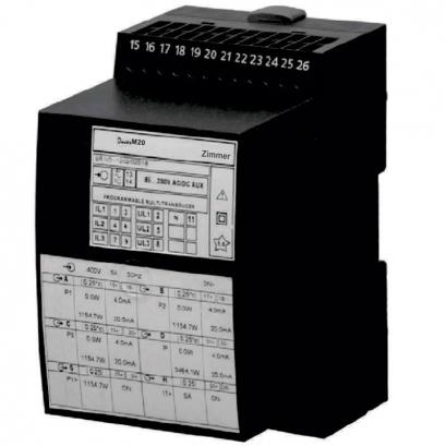 ترانسدیوسر و ترانسمیتر قابل برنامه ریزی M20 زیمــر