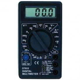 مولتی متر دیجیتال DT832+H