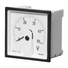 آمپرمتر/ولت متر آنالوگ تابلـویی 240 درجه مدل DSL زیمر