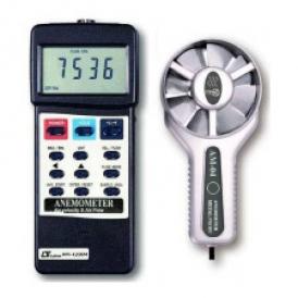 سرعت سنج/بادسنج/آنومتر لوترون مدل AM-4206M