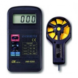 سرعت سنج باد/بادسنج/آنومتر لوترون مدل AM-4200