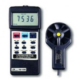 سرعت سنج/بادسنج/آنومتر لوترون مدل AM-4206