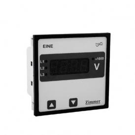 آمپرمتر/ ولت متر تابلویی دیجیتال قابل برنامه ریزی
